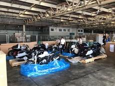 """Cận cảnh những chiếc xe """"hàng khủng"""" của nhà BMW Motorrad cập bến Sài Gòn"""