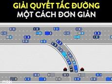Đây là cách đơn giản để giải quyết tắc đường trong thành phố lớn