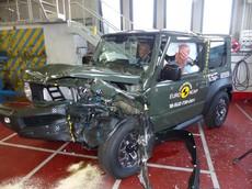 Suzuki Jimny 2018 gây thất vọng trong kiểm tra va chạm của EuroNCAP