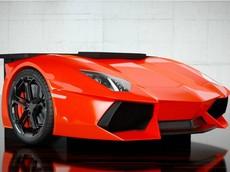 Bàn làm việc theo phong cách siêu xe Lamborghini Aventador với giá hơn 800 triệu đồng