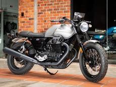 Xế hoài cổ Moto Guzzi V7 III Rough 2018 có giá 423 triệu đồng
