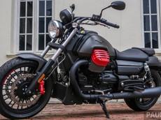 Cận cảnh Moto Guzzi Audace Carbon 2018 khiến dân chơi xe thèm thuồng