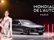 Tân Hoa hậu Việt Nam Trần Tiểu Vy sẽ xuất hiện ở gian trưng bày xe của VinFast tại triển lãm ô tô Paris 2018