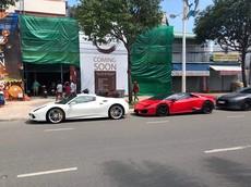 """Dàn siêu xe """"khủng"""" của giới nhà giàu Việt kéo nhau về Vũng Tàu ủng hộ Cường """"Đô-la"""""""