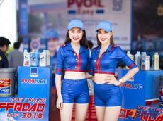 Ngắm nhìn những bóng hồng tại giải đua Vietnam Offroad Cup 2018