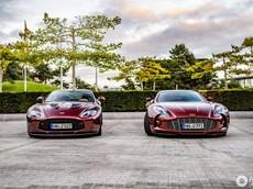 """Không chỉ hiếm và đắt đỏ, cặp đôi siêu xe Aston Martin này còn """"tông xuyệt tông"""" màu sơn"""