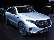 Ngẩn ngơ ngắm SUV điện Mercedes-Benz EQC tại triển lãm ô tô Paris 2018