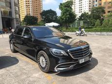 Sau tất cả, Mercedes-Maybach S650 2018 cũng đã lăn bánh trên đường phố Việt