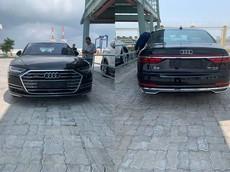 Cận cảnh chiếc xe sang Audi A8 2018 đầu tiên đặt chân đến Việt Nam