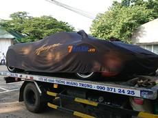 """Pagani Huayra hơn 80 tỷ đồng của Minh """"Nhựa"""" đang đi xét xe tại 282 Nơ Trang Long"""
