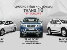 Nissan Navara giảm giá 15 triệu trong tháng 10