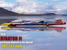 Quên siêu xe đi, đây mới là phương tiện 4 bánh nhanh nhất thế giới với tốc độ 809,5 km/h