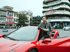 Tuấn Hưng lần đầu tiên lên tiếng sau vụ tai nạn của siêu xe Ferrari 488 GTB
