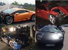Những vụ tai nạn siêu xe đình đám nhất Việt Nam