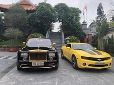 """Rolls-Royce Phantom """"phiên bản rồng"""" mạ vàng 24k xuất hiện tại Hải Phòng"""