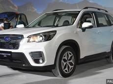 Subaru Forester mới với nhiều tính năng an toàn sắp ra mắt tại VMS 2018