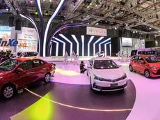"""Ngắm dàn xe Toyota """"khoe sắc"""" tại triển lãm Ô tô Việt Nam 2018"""