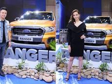 """Các sao """"phải lòng"""" Ford Ranger tại triển lãm Ô tô Việt Nam"""