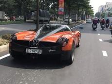 Sau hơn 2 năm chờ đợi, Pagani Huayra độc nhất vô nhị tại Việt Nam đã lăn bánh trên đường phố
