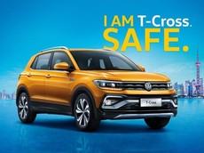 Ưu ái Trung Quốc, Volkswagen T-Cross 2019 có phần mặt giống Tiguan khác với bản châu Âu