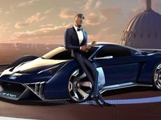 Audi RSQ e-tron - Siêu xe điệp viên được thiết kế riêng cho phim mới của Will Smith