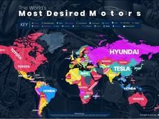 Toyota là nhãn hiệu ô tô được Google nhiều nhất trên thế giới, đứng trên BMW và Mercedes
