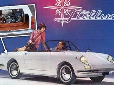 Autobianchi Stellina - Xe thể thao Ý lạ đời với động cơ đặt trong một chiếc hộp nằm trong cốp sau