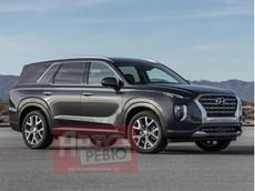 SUV 8 chỗ Hyundai Palisade 2020 lần đầu lộ diện hoàn toàn, đầu xe hao hao Santa Fe 2019