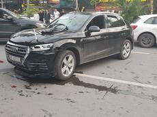 Hà Nội: Audi Q5 gây tai nạn liên hoàn, Mercedes-Benz GLK đen đủi bị liên lụy