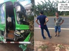"""CSGT huyện Di Linh: Thông tin """"anh hùng"""" nhảy lên ôm vô lăng cứu 30 người trên xe khách là chuyện bịa đặt"""