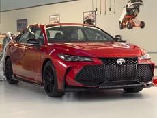 Toyota vén màn cặp đôi Camry TRD và Avalon TRD với thiết kế thể thao hơn