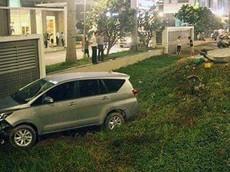 """Ô tô """"càn"""" hàng loạt xe máy giữa lòng Sài Gòn khiến một người tử vong"""