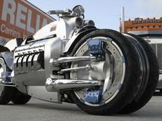 Siêu mô tô Dodge Tomahawk tròn 15 tuổi: Sở hữu động cơ V10 500 mã lực, có thể đạt vận tốc 676 km/h