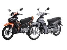 Yamaha Sirius và Jupiter đổi phong cách với màu sắc mới, giá không đổi