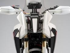 """Chi tiết HondaCB125X Concept tuyệt đẹp với màu trắng """"Ngọc Trinh"""""""