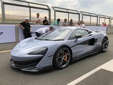 Siêu xe hoàn toàn mới McLaren 600LT ra mắt giới nhà giàu Hồng Kông