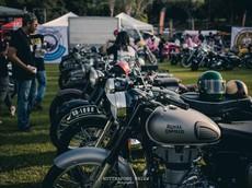 Đã mắt với hàng trăm chiếc mô tô tại lễ hội xe cổ Thái Lan 2018