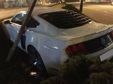 Đà Nẵng: Hàng hiếm Ford Mustang GT 5.0 Limited Edition hư hỏng nặng sau tai nạn kinh hoàng