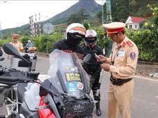 Hàng loạt xe mô tô phân khối lớn bị tạm giữ vì chạy quá tốc độ trên cao tốc Liên Khương