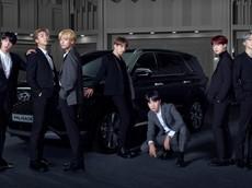 """Hyundai Palisade 2020 - SUV 8 chỗ có ban nhạc BTS làm đại sứ thương hiệu - bị """"tóm gọn"""" trên đường phố"""