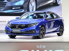 """Honda Civic 2019 chính thức """"chào sân"""" Đông Nam Á với 4 bản trang bị, giá chỉ từ 618,5 triệu đồng"""
