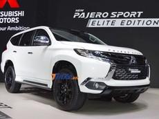 """Chiêm ngưỡng vẻ đẹp """"bằng xương bằng thịt"""" của Mitsubishi Pajero Sport Elite Edition 2019"""