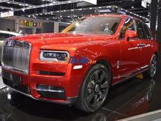 Cận cảnh Rolls-Royce Cullinan sắp ra mắt tại Việt Nam đang được trưng bày ở Thái Lan