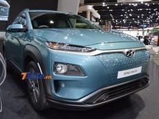 Hyundai Kona Electric - crossover chạy điện cỡ B đầu tiên trên thế giới - liên tục ra mắt Đông Nam Á
