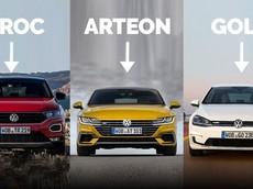 Liệu bạn có biết ý nghĩa thú vị ở sau tên gọi các mẫu xe Volkswagen?
