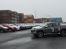 Lô xe Mitsubishi Triton 2019 đầu tiên đã cập cảng Việt, chuẩn bị được ra mắt