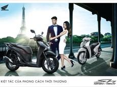 Honda Việt Nam ra mắt màu đen mờ hoàn toàn mới cho dòng xe cao cấp SH 150i