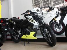 Cận cảnh xe côn tay Suzuki GSX150 Bandit đầu tiên tại Việt Nam
