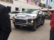 Xe bán tải Mitsubishi Triton 2019 lộ diện tại Hà Nội, giá lăn bánh tạm tính từ 786 triệu đồng