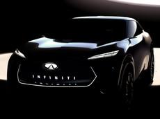 Infiniti úp mở hình ảnh mẫu SUV mới để cạnh tranh Tesla Model X